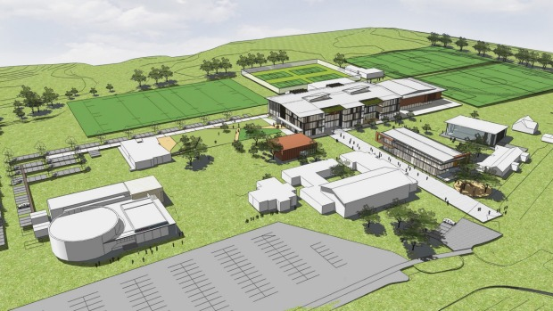 Auckland's Western Springs College $79 million rebuild plans revealed