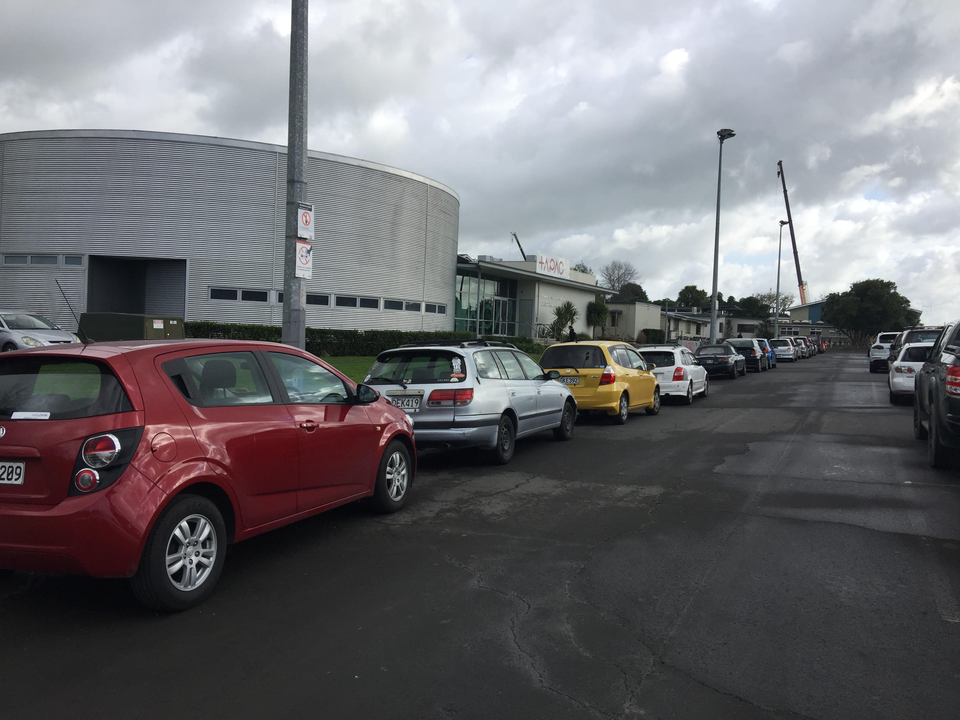 Carparking & Safety Concerns At WSC/NPOW