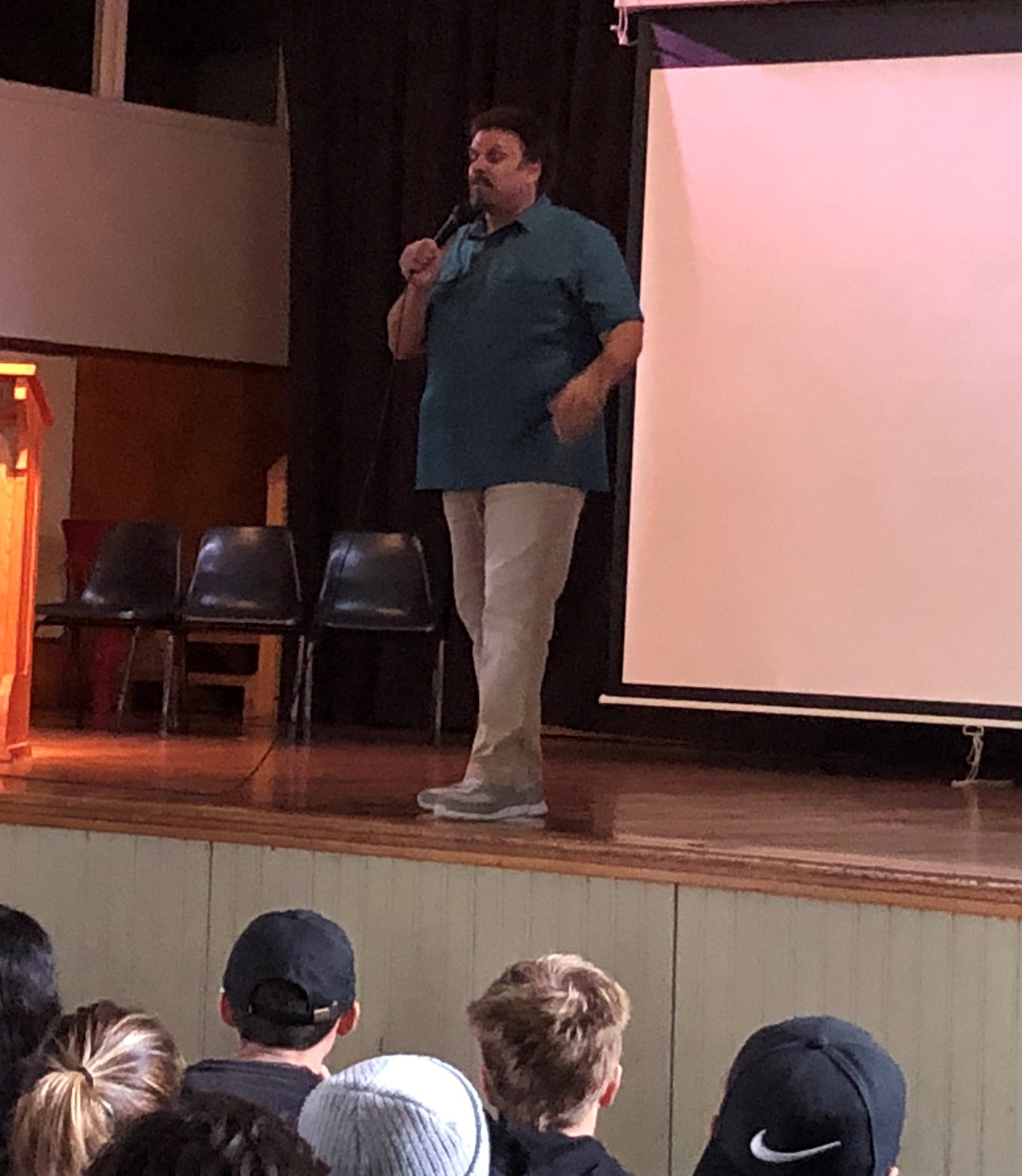 English – Visting US Writer Neal Shusterman