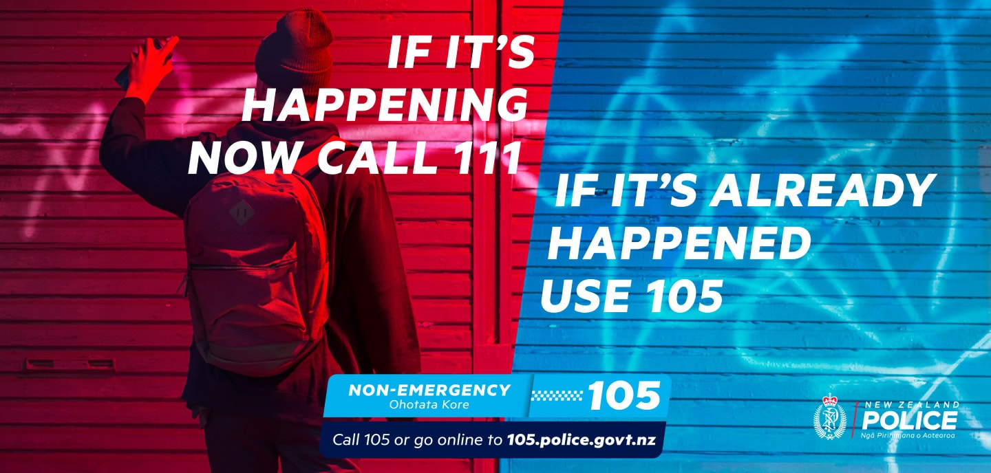 New Zealand Police – 105 Non Emergency