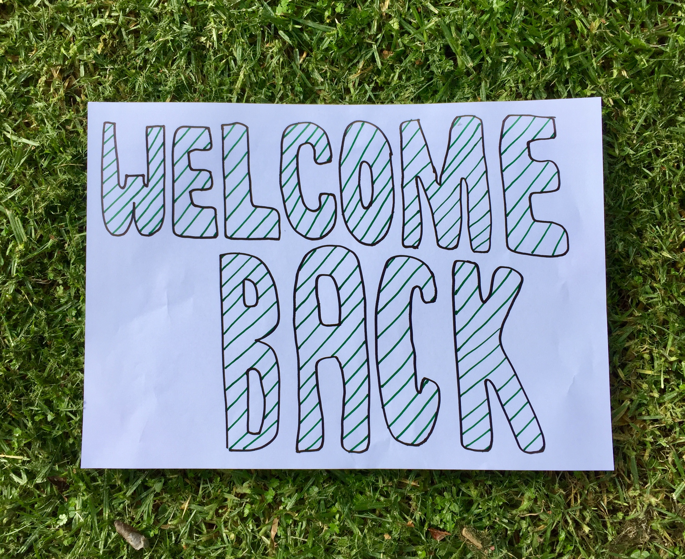 A big welcome back from the Famous (and Fabulous) 5