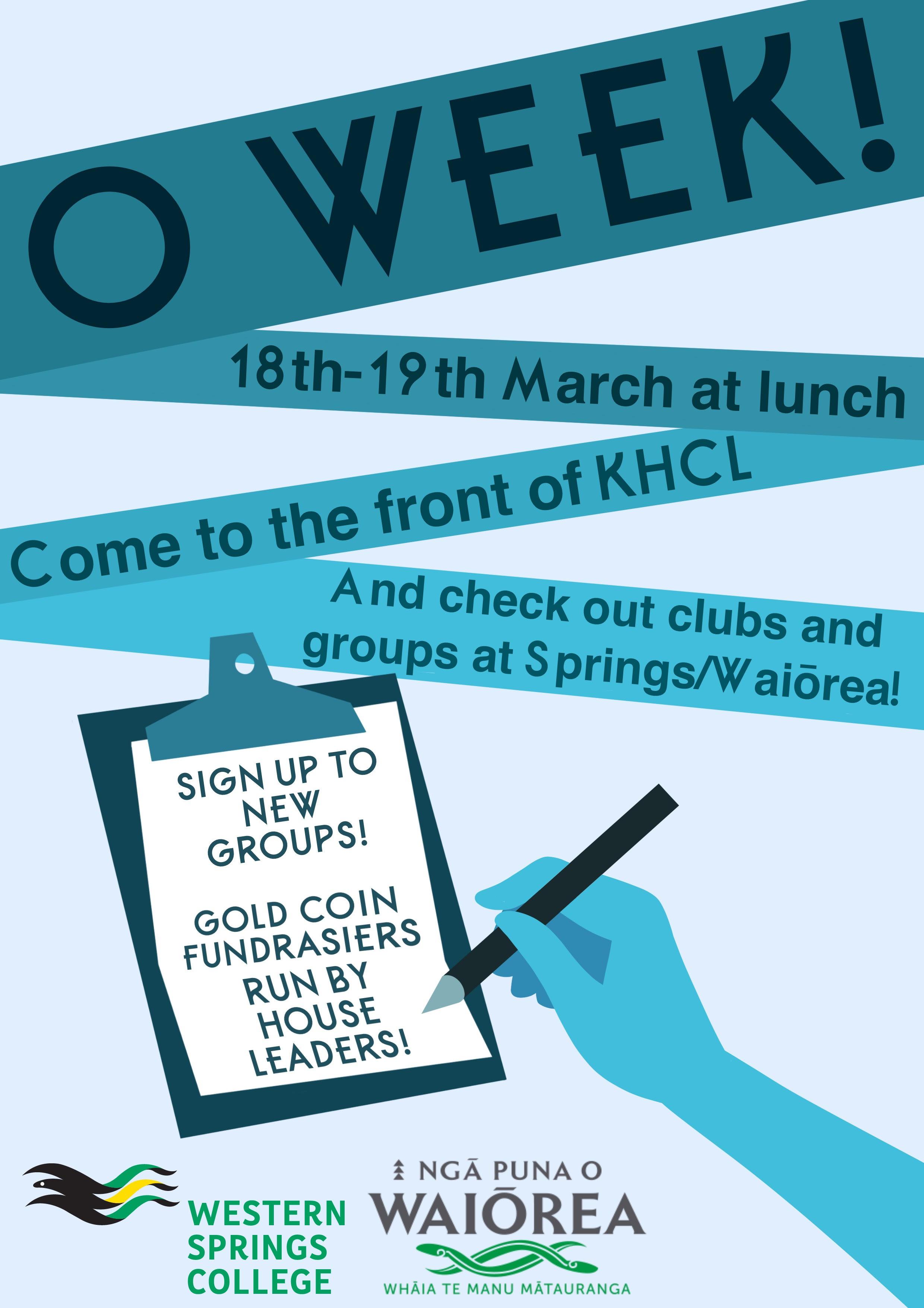 O Week Poster Pt.3